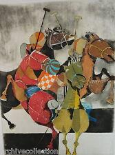 """Graciela Rodo Boulanger """" Polo"""" Original Etching Artwork S/N"""