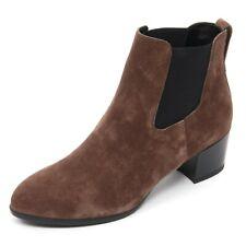 B7570 tronchetto donna HOGAN H272 stivaletto marrone chiaro boot shoe woman