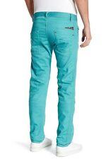 NWT Diesel Darron Straight Leg Jean--Size(27,28,29,31,32 )x32---Color:TEAL BLUE