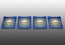 New Hampshire State Flag Specialty Custom Cornhole Bags-Set of 4-Baggo-Corn Toss