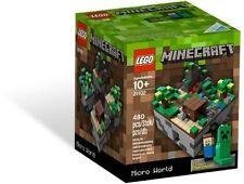 LEGO Minecraft Factory Sealed Brand New 21102 Creeper Steve Set