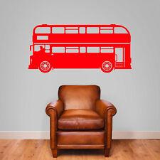 Bus London Vieux Style Bus Transport Neuf Enfants Rue Autocollants Muraux B6