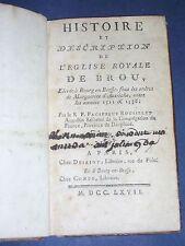 Ain Bour en Bresse description de l'église royale de Brou de 1767