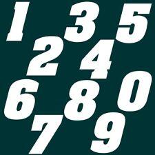 2 cm Zahlen Aufkleber Klebezahlen Ziffern Sticker 1 bis 200 Stück weiß SA-25