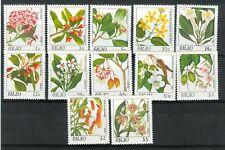 FIORI - FLOWERS PALAU 1987 Common Stamps
