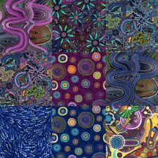 WALKABOUT II Two Collection Goanna Fabric Kangaroo Australia Bush River Walk NEW