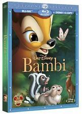 DISNEY BLU RAY Bambi - nuova ed. speciale - sigillato con slipcover