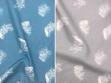 Baumwollstoff Federn 2 Farben *Breite 160cm* ab 50 cm