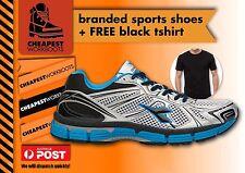 Diadora VIGOR FREE TSHIRT Mens Running jogger sports shoe Breathable Comfortable