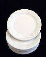 Bianco usa e getta piatti di carta misura 22.9Cm & 17.8Cm Per compleanni festa