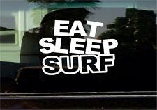 EAT SLEEP SURF VINYL STICKER