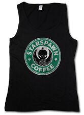 STARSPAWN COFFEE TANK TOP VEST - Arkham Lovecraft Marsh Miskatonic Spawn Cthulhu