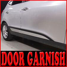 Side Door Sill Garnish Accent Molding 4p 1set For 10 11 12 Hyundai Tucson : ix35