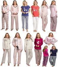 Ladies/ Womens Pyjama Set PJs Nightwear Long/Short Sleeve Set 2 Piece Set S-XXL