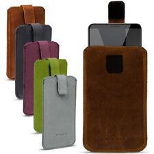 Leder Tasche für Honor View 10 Smartphone Hülle Cover Pull Tab Case Schutzhülle