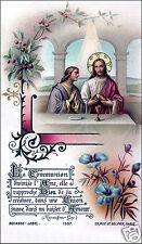 SANTINO HOLY CARD EUCARESTIA n 12