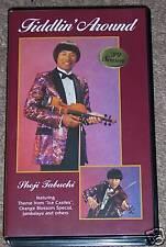 vhs SHOJI TABUCHI Fiddling Country Singer Fiddler 1989