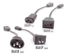 Reflector Receptacle Adapters - sun system hydrofarm plug -  Baasr or Baasp Cord