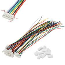 6Pin ZH 1.5mm Mini Micro JST Stecker 15cm Kabel 28AWG + Buchse 6 PIN 1 2 3 4 5 8