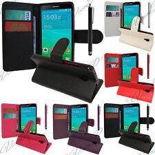 Schutz Hülle für Alcatel Idol 2 Mini S 6036Y Handy Brieftasche Flip Case Cover