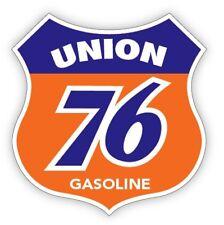 UNION 76 SHIELD sticker  RETRO DESIGN
