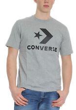 Converse T-Shirt Star Chevron T-Shirt 10018568 035 Grey