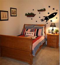 Rocket ship   vinyl wall decal