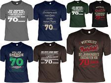 70.Geburtstag Sprüche T-Shirt - 70 Jahre - Coole Sprüche / Motive Geburtstag 70