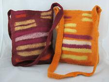 Fairtrade Felt Bag Festival Shoulder Case,Yak Wool Hippy Ethnic Accessories New