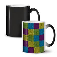Maze Geometric Fashion NEW Colour Changing Tea Coffee Mug 11 oz   Wellcoda
