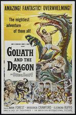 La vendetta di ercole - Goliath and the Dragon Mark Forest movie poster print