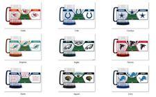 NFL Team Logo 16oz Freezer Mug Color Insert by Duck House -Select- Team Below