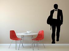 James Bond 007 Film PISTOLA Uomo Cool Ragazzi Ragazze Bambini Adesivo Decalcomania parete di casa FI10
