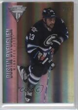 2013 Panini Titanium Jersey Number 31 Dustin Byfuglien Winnipeg Jets Hockey Card
