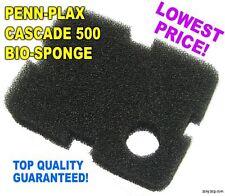 Cascade 500 Bio-Sponge Penn-Plax Filter Foam Replacement - 2 Pack