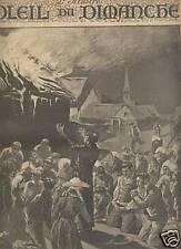 LE SOLEIL DU DIMANCHE 1892 N 42 LE MIRACLE DE LAMPAUL