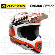 Helm Acerbis Impact Bombshell Orange Motorrad Cross Enduro Quad Offroad MX Faser
