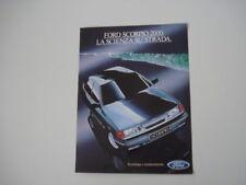 advertising Pubblicità 1985 FORD SCORPIO 2000