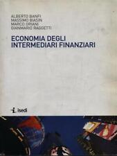 ECONOMIA DEGLI INTERMEDIARI FINANZIARI  AA.VV. ISEDI 2011
