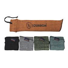 Tourbon Hunting Pistol Sleeves Handgun Socks Gun Silicone Treated 5 Color Option