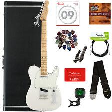 Fender Player Telecaster, Maple - Polar White w/ Hard Case