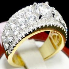 Bridal Anniversary Wedding Ring Band Round Solitaire Ladies Designer Engagement