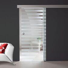 Schiebetür Ganzglastür Glastür Tür Innentür Türen Zimmertüren  Alu60 Dekor S736