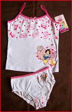 New PRINCESS 2pc Underwear Set UNDIES VEST Sz 2 3 4 5 6