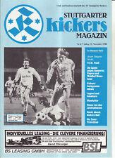 BL 88/89 Stuttgarter Kickers - FC St. Pauli