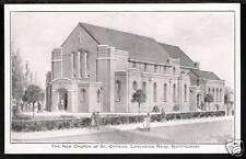 Nottingham. New Church of St Cyprian, Lancaster Road.