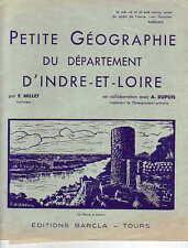 Géographie ! Petite géographie du département d'Indre et Loire !