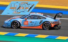 Calcas Porsche 911 RSR Le Mans 2018 86 1:32 1:43 1:24 1:18 991 decals