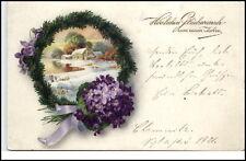 Glückwunsch AK um 1910/20 Gute Wünsche Jahreswechsel Postkarte Neues Jahr AK