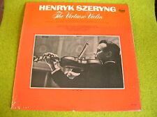 LP HENRYK SZERYNG-Violin-VITALI/TARTINI...PAGANINI-EVEREST US PRESS MONO  6154